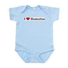 I Love Damarion Infant Creeper