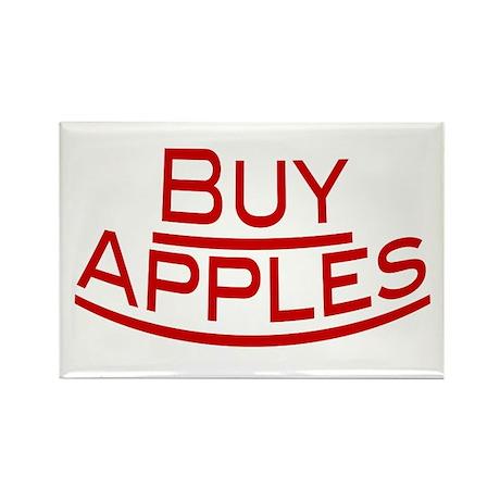 Buy Apples Rectangle Magnet