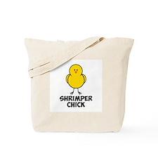 Shrimper Chick Tote Bag