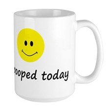 I pooped today Ceramic Mugs