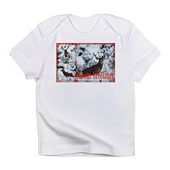Buck deer in snow Infant T-Shirt
