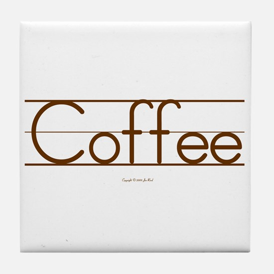Coffee Elementary Printing Coaster