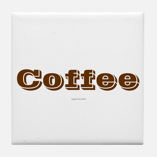 Coffee Outlined Coaster