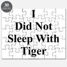 I Did Not Sleep With Tiger Puzzle