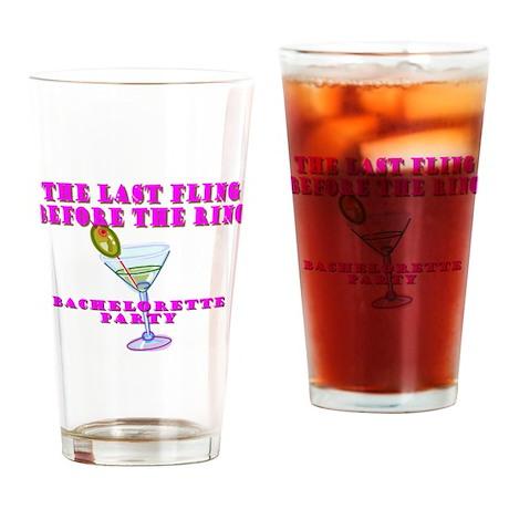 Bachelorette Drinking Glass