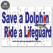 Save a Dolphin Ride a Lifegua Puzzle
