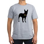 Christmas or Holiday Bull Terrier Silhouette Men's