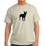 Christmas or Holiday Bull Terrier Silhouette Light