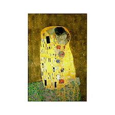 The Kiss Gustav Klimt Rectangle Magnet