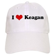 I Love Keagan Baseball Cap