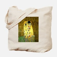 The Kiss Gustav Klimt Tote Bag