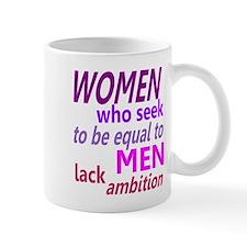 Women Equal Men Mug