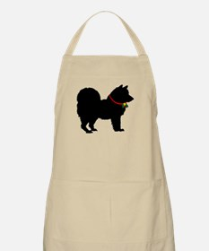 Christmas or Holiday Chow Chow Silhouette Apron