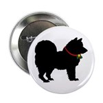 Christmas or Holiday Chow Chow Silhouette 2.25