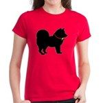 Christmas or Holiday Chow Chow Silhouette Women's