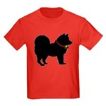 Christmas or Holiday Chow Chow Silhouette Kids Dar