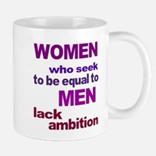 Women Equal Men Mug