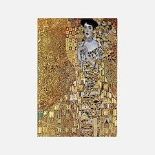 Adele Gustav Klimt Rectangle Magnet