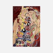 The Virgins Klimt Rectangle Magnet