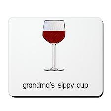 Grandma's Sippy Cup Mousepad
