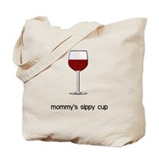 Mommy's Sippy Cup Tote Bag