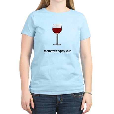 Mommy's Sippy Cup Women's Light T-Shirt