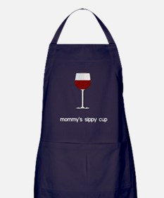 Mommy's Sippy Cup Apron (dark)