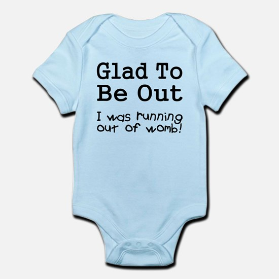 Running Out of Womb Infant Bodysuit