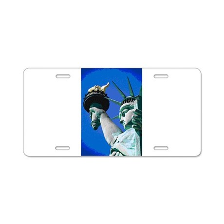 STATUE OF LIBERTY™ Aluminum License Plate