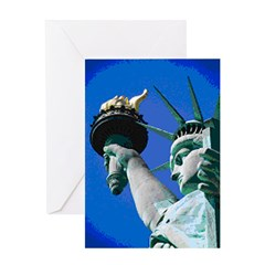 STATUE OF LIBERTY™ Greeting Card