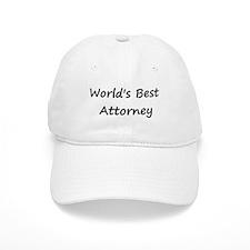 World's Best Attorney Baseball Cap
