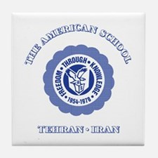 Cool Tehran american school Tile Coaster