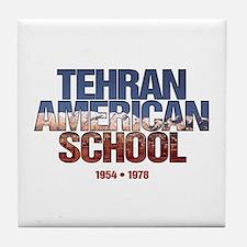 Unique Tehran american school Tile Coaster