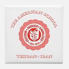 Cute Tehran american school Tile Coaster