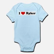 I Love Ryker Infant Creeper