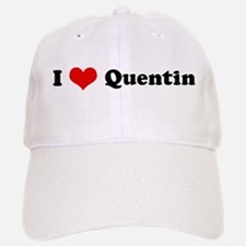 I Love Quentin Baseball Baseball Cap