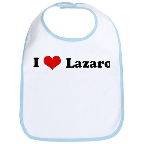 I Love Lazaro Bib