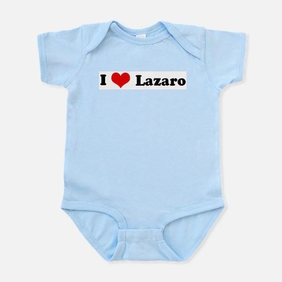 I Love Lazaro Infant Creeper
