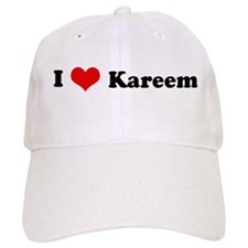 I Love Kareem Baseball Cap