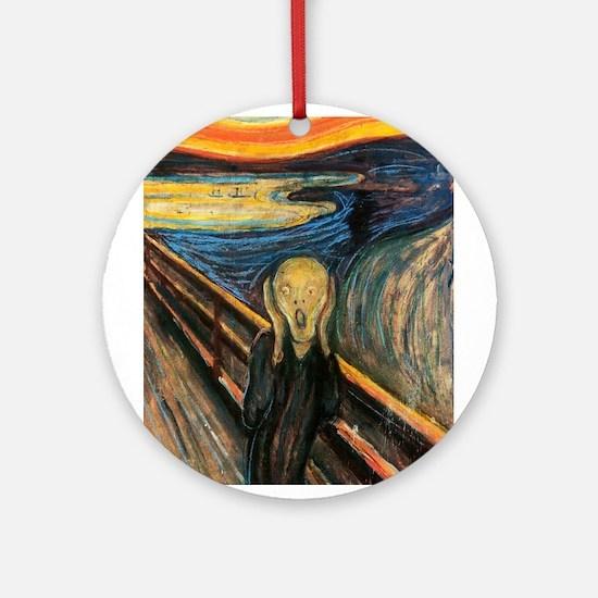 The Scream Ornament (Round)