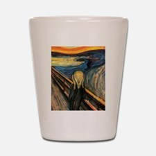 The Scream Shot Glass