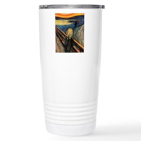 The Scream Stainless Steel Travel Mug