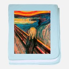 The Scream baby blanket