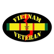 Vietnam Vet 1 Star Decal