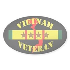 Vietnam Vet 4 Star Decal