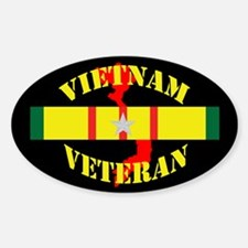 Vietnam Vet 5 star Decal