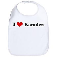 I Love Kamden Bib
