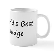 World's Best Judge Mug