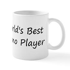World's Best Piano Player Mug