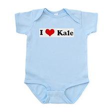 I Love Kale Infant Creeper